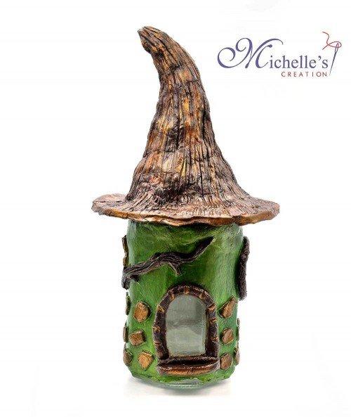Casuta decorativa din ceramica CER003
